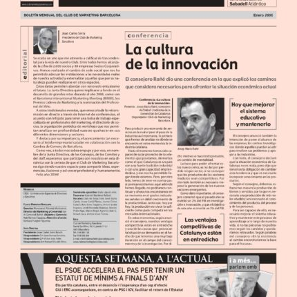 Club Marketing Barcelona- Arquitectura corporativa en la gestión de marca