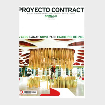 """Magazine """"Project Contract""""; offices for RACC in Barcelona"""