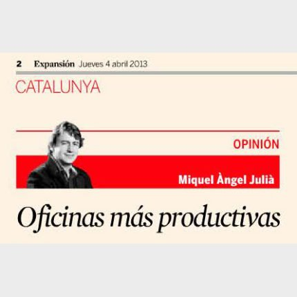 Expansión – More productive office