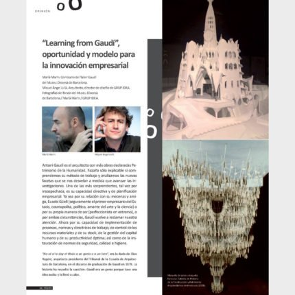 """Learning from Gaudi"" Opportunity and model for business innovation"