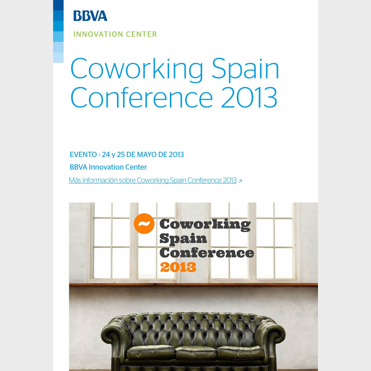 Coworking Spain Conference 2013