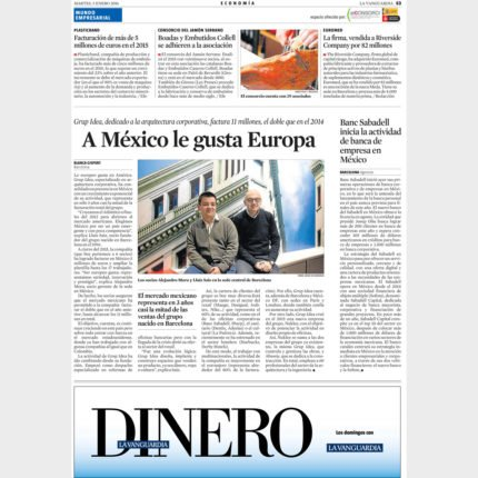 LA VANGUARDIA – Mexico likes Europe
