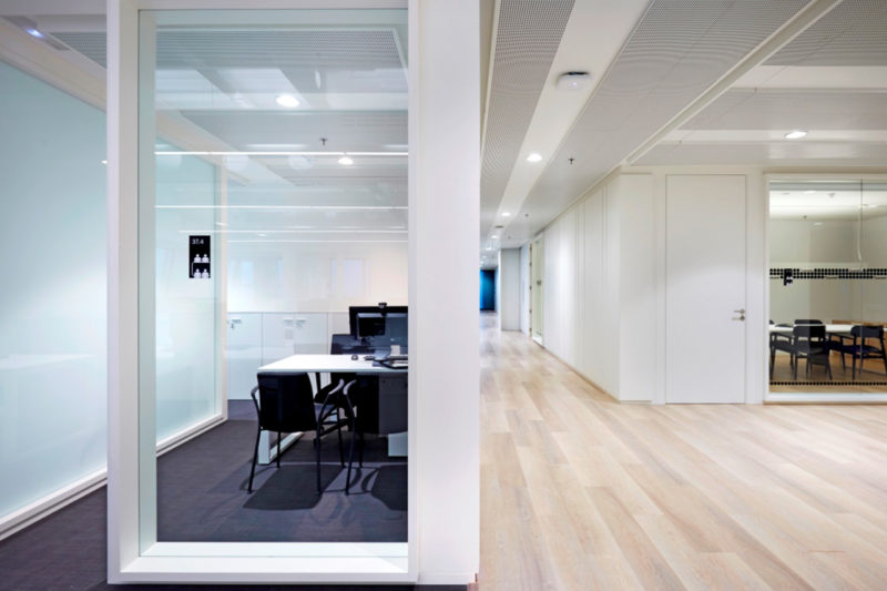 Banco Sabadell London. Corporate offices in the Leadenhall Building