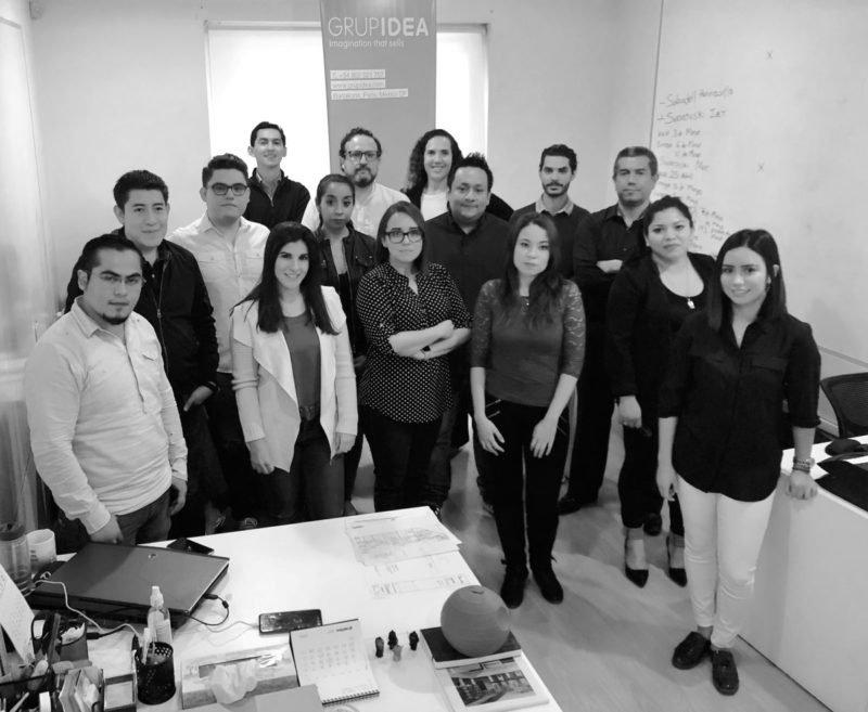 Grup Idea opens its new office in Mexico.