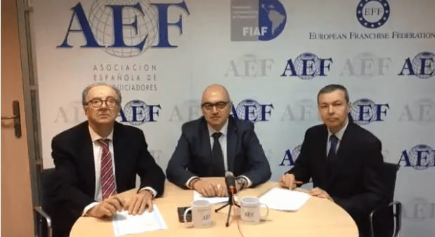 Grup Idea in the Coffee of the AEF (Spanish Association of Franchisors)