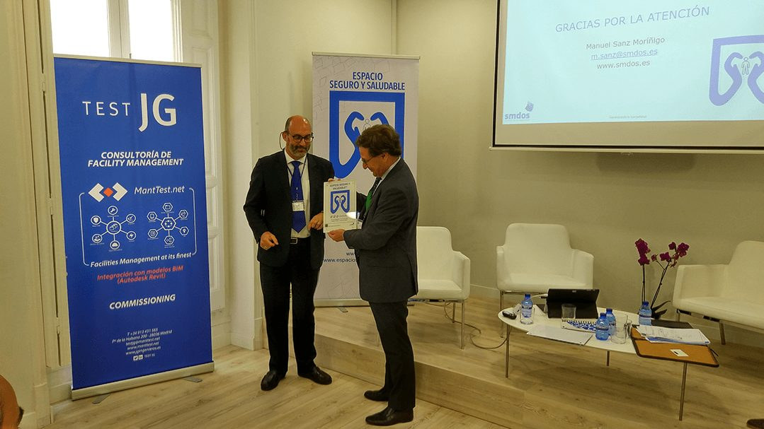 """Grup Idea participates to the conformity label elaboration """"Safe and Healthy Building"""", created by SMDOS."""