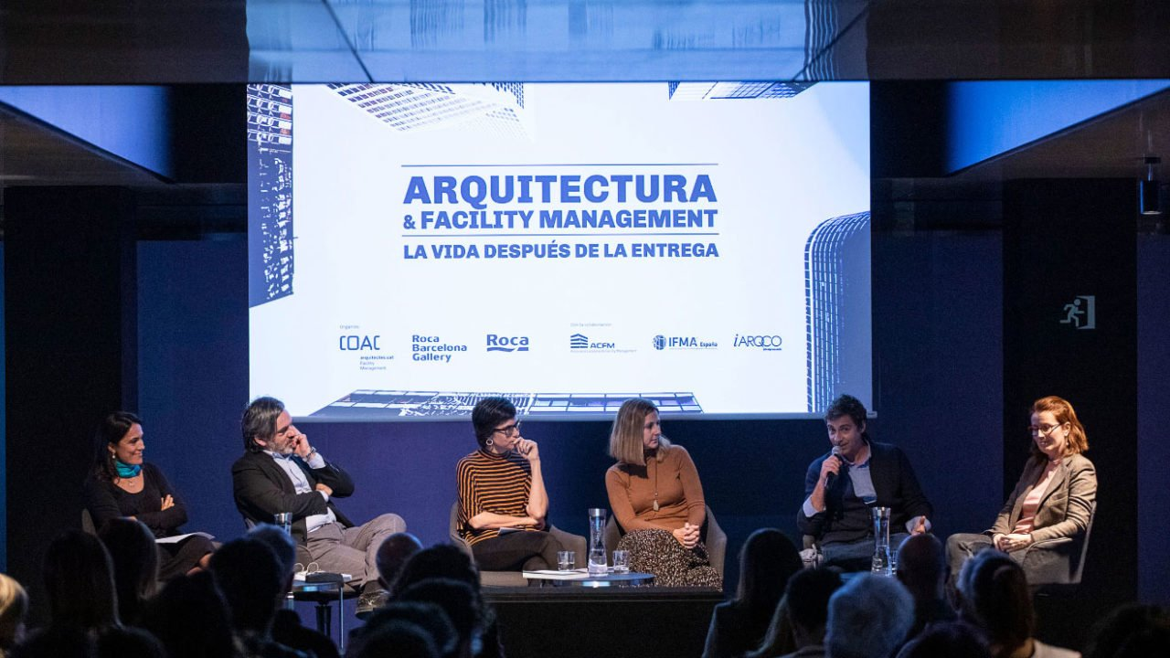 """Architecture & Facility Management. Life after project delivery"" in Roca Barcelona Gallery"