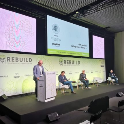Retail session at the REBUILD 2020 building innovation fair