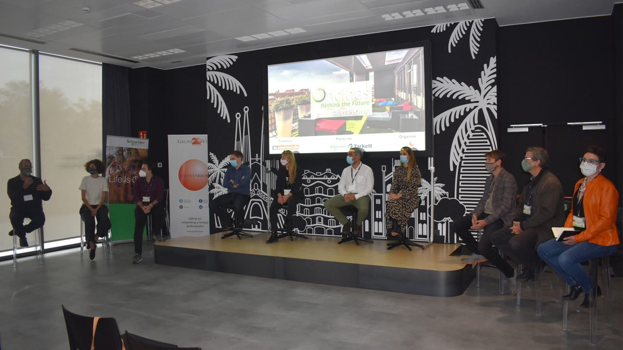 Grup Idea attends the Grupo Vía session on offices and coworking spaces