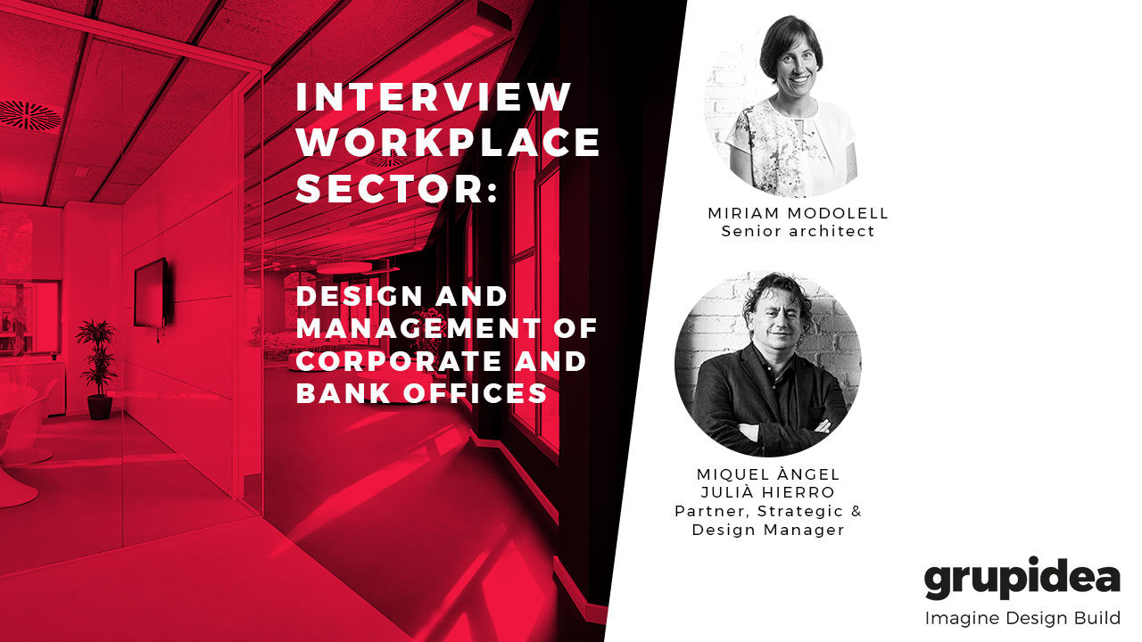 Design and management of corporate and bank offices